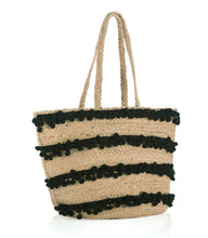 Load image into Gallery viewer, AUBREY TOTE, BLACK