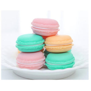 4*2CM Color Mini Macarons Organizer Storage Box
