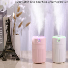 Load image into Gallery viewer, 420ml Cool Leaf Air Humidifier USB Essential Oil
