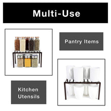 Load image into Gallery viewer, Small Premium Kitchen Storage Shelf with Plastic