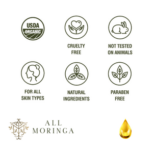 Premium 100% Organic Moringa Cold Press Oil