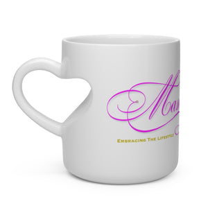 Mandy - Heart Shape Mug