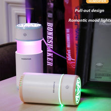Load image into Gallery viewer, Creative Pull out Design Air Humidifier with LED