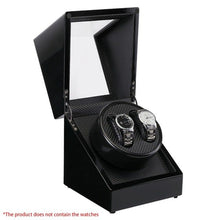 Load image into Gallery viewer, Double Watch Winders Wooden Lacquer Piano Glossy