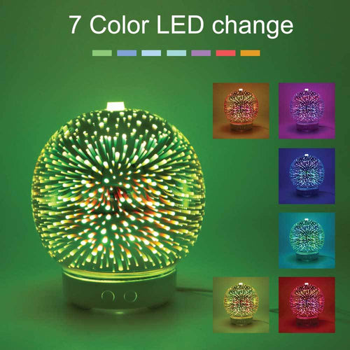 Essential Oil Aroma Diffuser Mirror Ball 3D Colour
