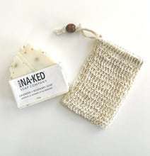 Load image into Gallery viewer, Natural Sisal Soap Saver and Exfoliating Pouch