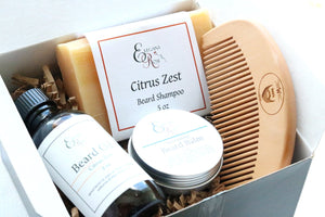 Gift for Him, Beard Kit, Beard Grooming Kit, Beard