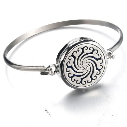 Perfume Essential Oil Diffuser Locket Bracelet