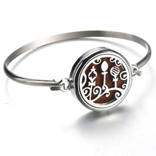 Load image into Gallery viewer, Perfume Essential Oil Diffuser Locket Bracelet