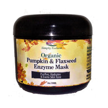 Load image into Gallery viewer, Organic Pumpkin & Flaxseed Enzyme Face Mask
