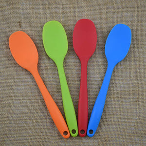 Silicone Kitchen Bakeware Utencil Spoons And Scoop