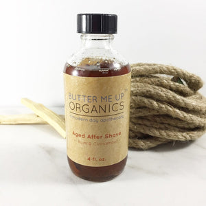 Natural Aged After Shave / Cologne Organic Bay