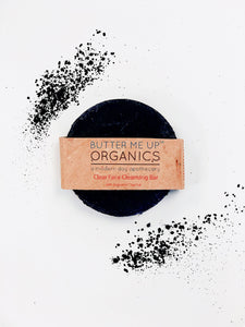 Face Wash Organic Activated Charcoal Face Soap