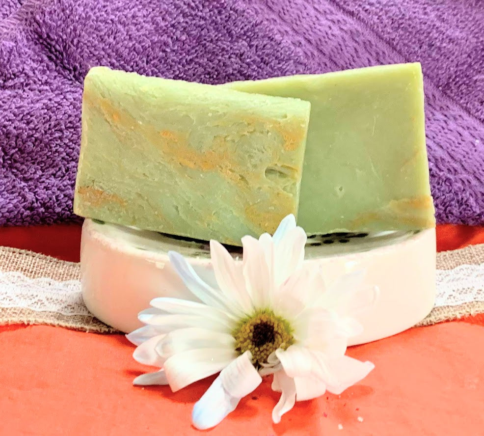 Aloe & Clover Soap Bars (Qty 10)