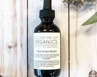 Organic Facial Serum Anti Aging Wrinkles Under Eye