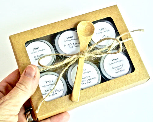 Gourmet Sea Salt Sampler Gift Set