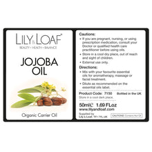 Load image into Gallery viewer, Jojoba Carrier Oil - Organic