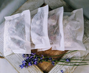 Floral Coconut Milk Bath - 4 bath tea bags -