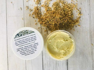 Elderflower eye cream
