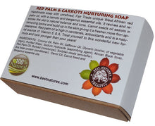 Load image into Gallery viewer, Red Palm-Carrot Nurturing Organic Soap