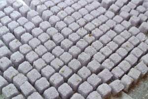 Lavender Sugar Cubes, Champagne Toasts, Tea