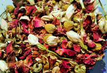 Load image into Gallery viewer, Floral Bath Tea - Rose Bath Tea - Jasmine Bath Tea