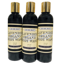 Load image into Gallery viewer, Organic Body Wash Lavender Scent Lexi Noel Beauty