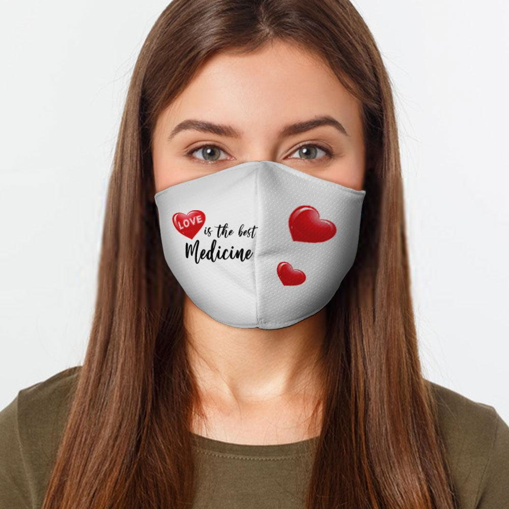 Love Medicine Face Cover