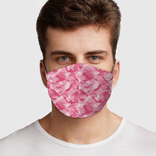 Load image into Gallery viewer, Pink Camo Face Cover