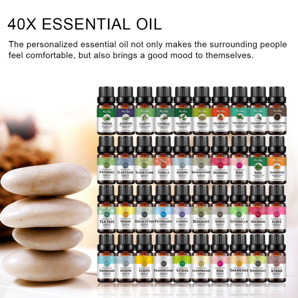Pure Essential Oils (Qty 37)