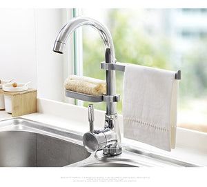 Kitchen Faucet Hanging Storage Rack