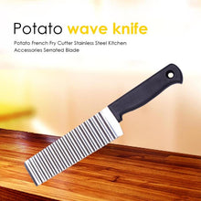 Load image into Gallery viewer, Stainless Steel Wave Knife