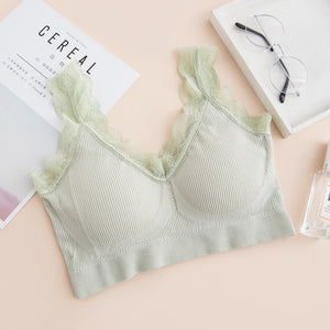 Lace  Seamless Wireless Push Up Bra