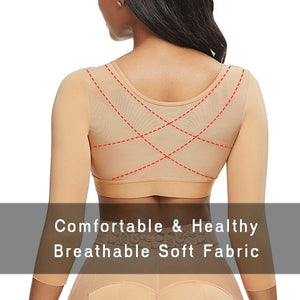 Compression Bra with Arm Shaper Support
