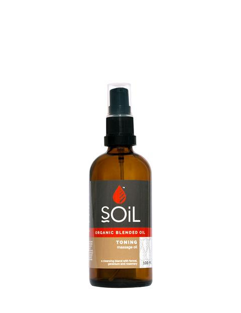 Organic Toning Massage Blended Oil