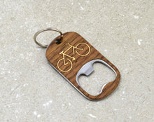 Load image into Gallery viewer, Bicycle Keychain Opener