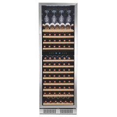 Image of Touch Panel Dual Zone Freestanding Wine Cooler