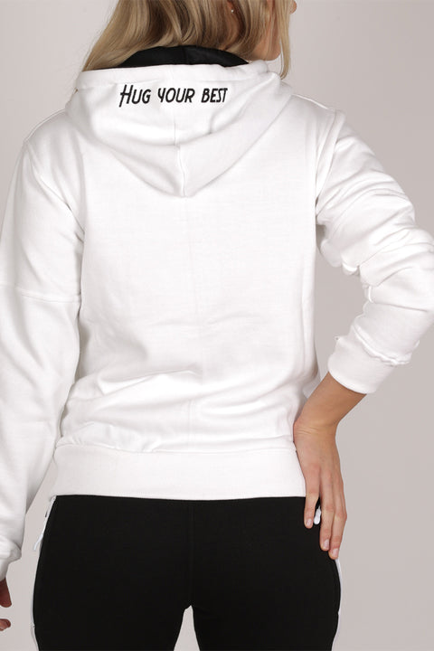 WHITE NUUK SWEATSHIRT