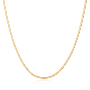 Harriet Thin Herringbone Chain