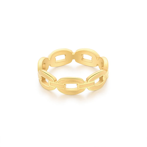 Stella Chain Link Ring