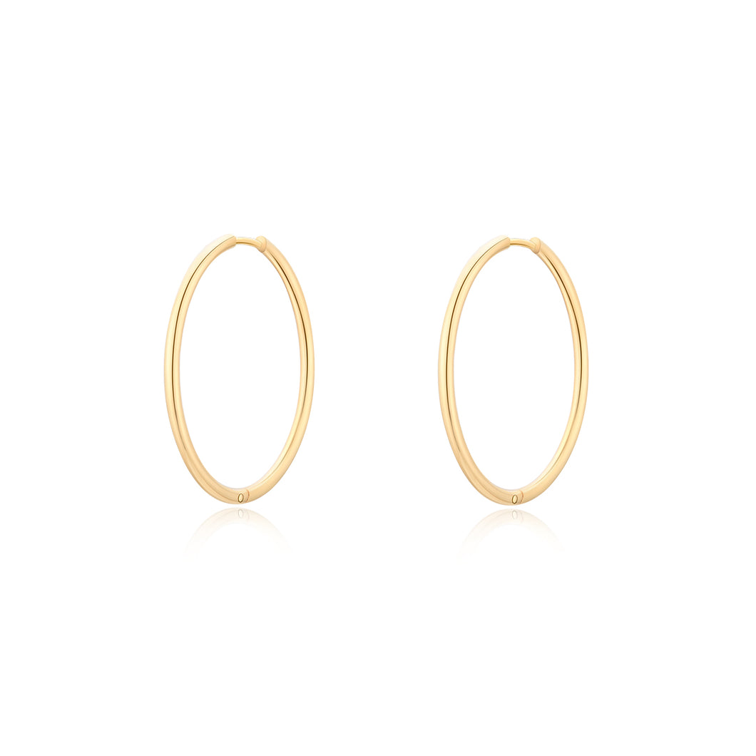 Faye 30mm Hoop Earrings
