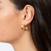Load image into Gallery viewer, Alba Hoop Earrings