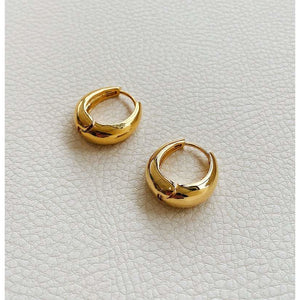 Zélie Gold Hoop Earrings