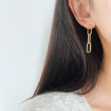 Load image into Gallery viewer, Chain Link Earrings