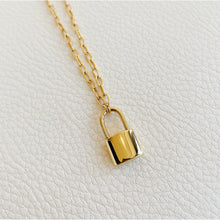 Load image into Gallery viewer, Cadence Padlock Necklace