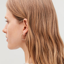 Load image into Gallery viewer, Faye 30mm Hoop Earrings