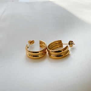 Alba Hoop Earrings