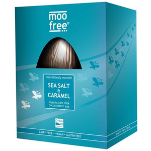 EASTER: Premium Organic Sea Salt & Caramel Easter Egg