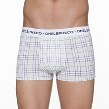 Load image into Gallery viewer, Checkered Men's Printed Trunks Underwear