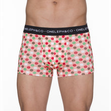 Load image into Gallery viewer, Polka Dots Men's Printed Trunks Pack of 3